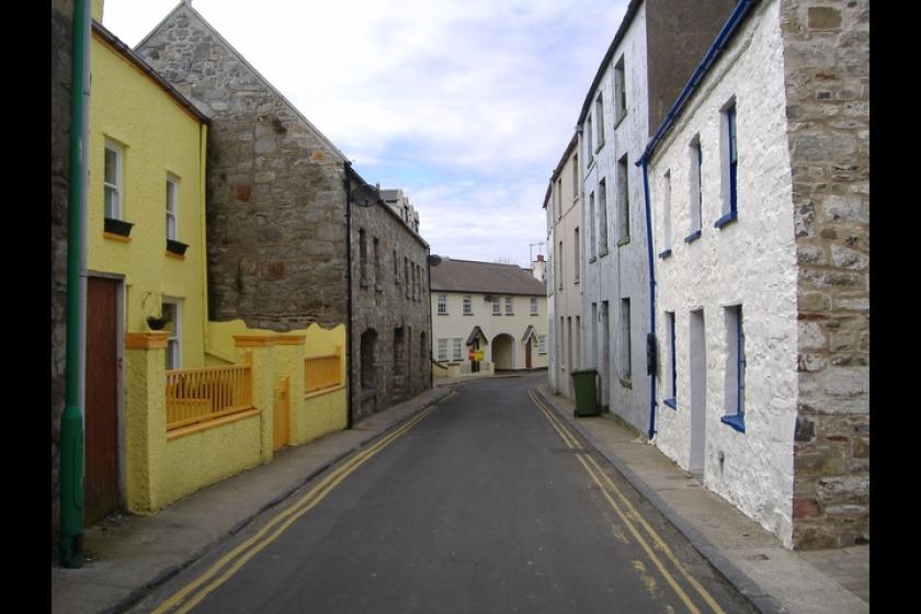 Malew Street in Castletown