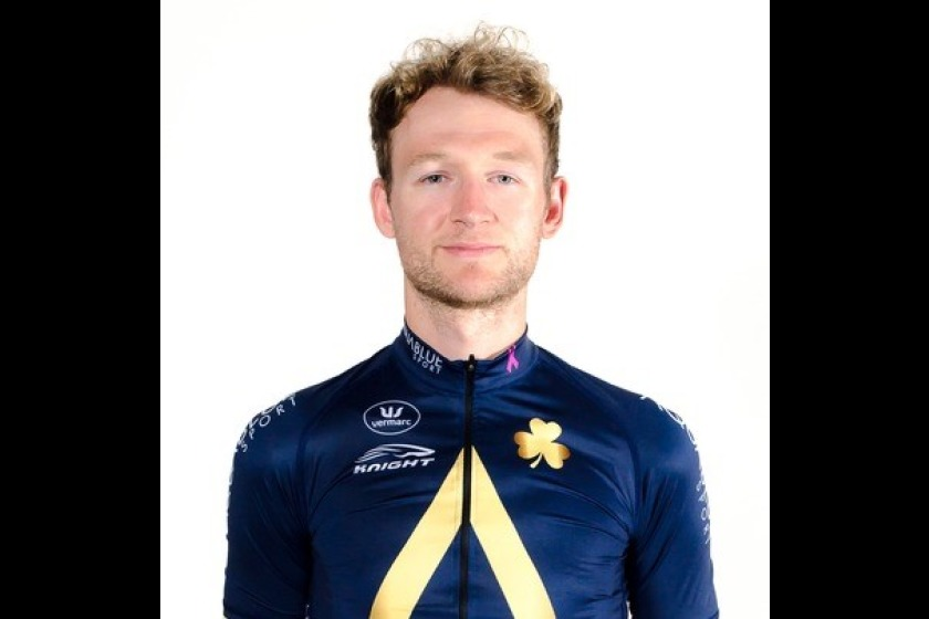 Manx cyclist Mark Christian will compete for Aqua Blue Sport in today's elite men's time trial