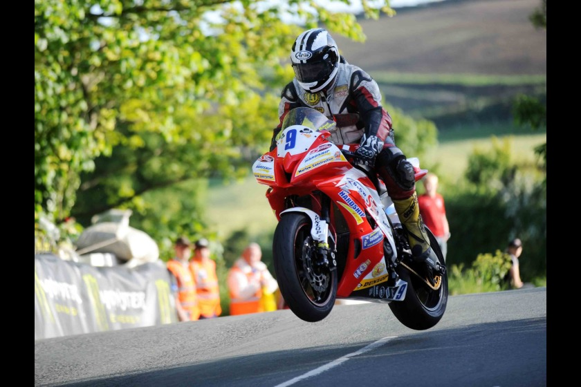 Michael Dunlop at this year's TT