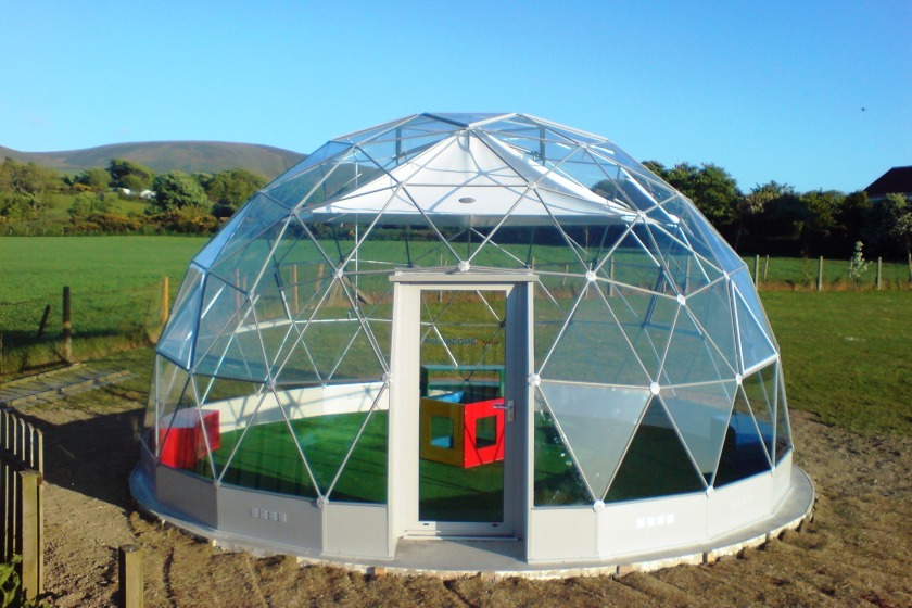 The Solardome at Michael Primary School