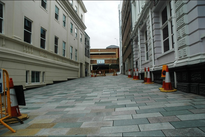 Nelson Street after regeneration works