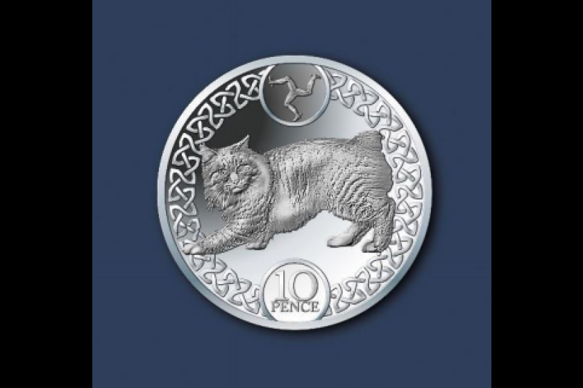 The new 10p design would include a Manx cat on the reverse