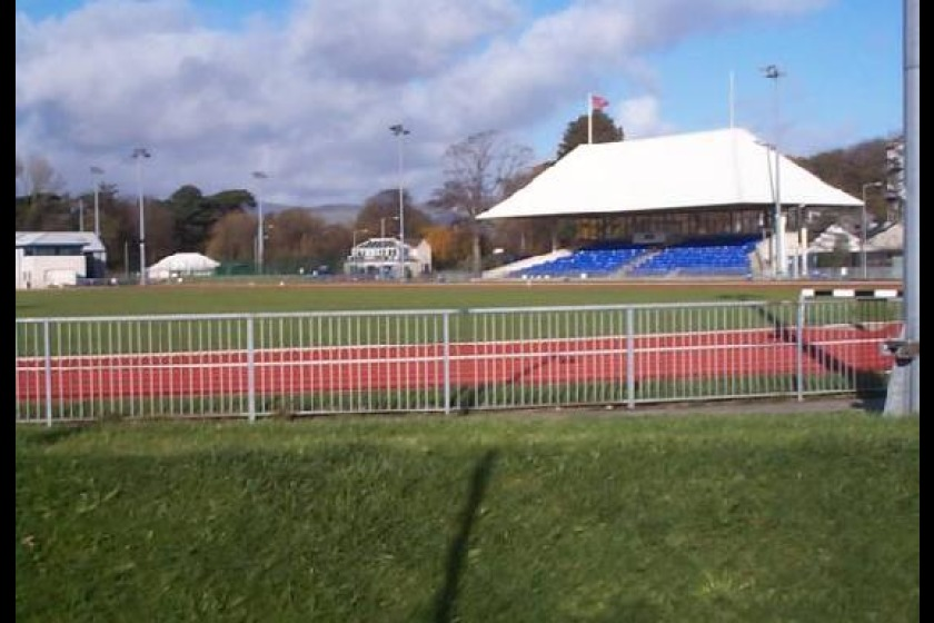 The campsite would be housed near the athletics track