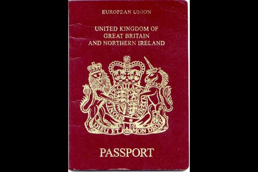 The current UK passport