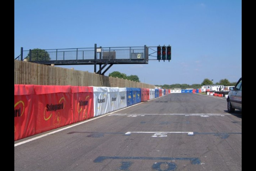 Recticel barriers are used for a number of motorsports