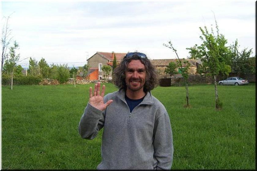 Five times winner Robbie Callister