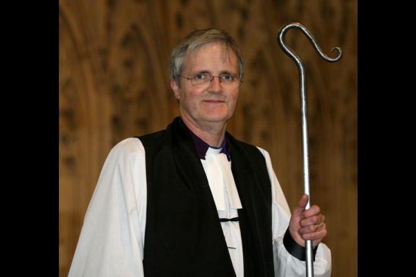 Bishop Robert Paterson has transcribed a verse