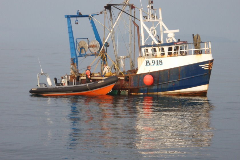 Stanley Hanna's vessel Fair Wind