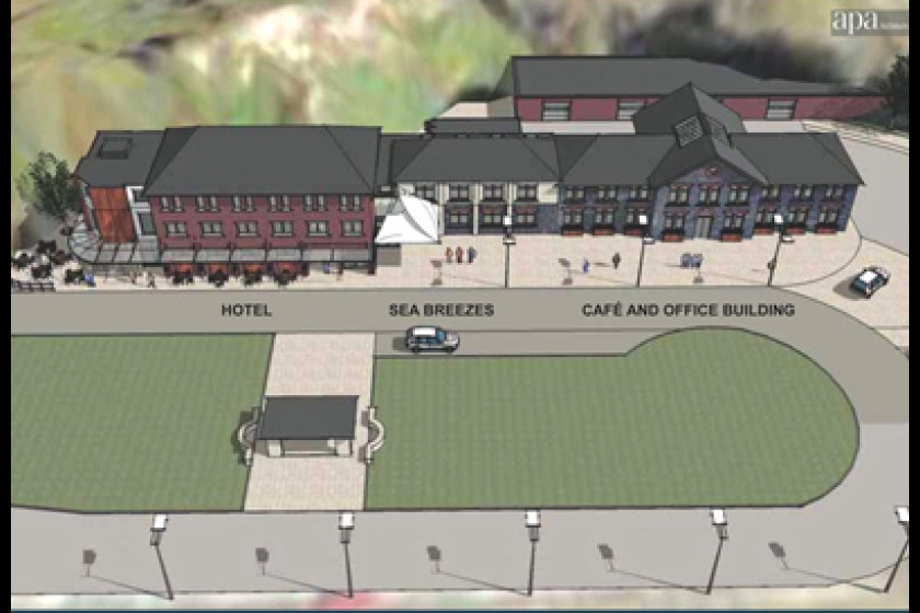 A digital impression of Sea Breezes' plans for the site