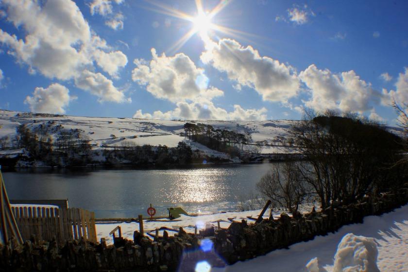 A snowy Injebreck, taken by Paul Corrin