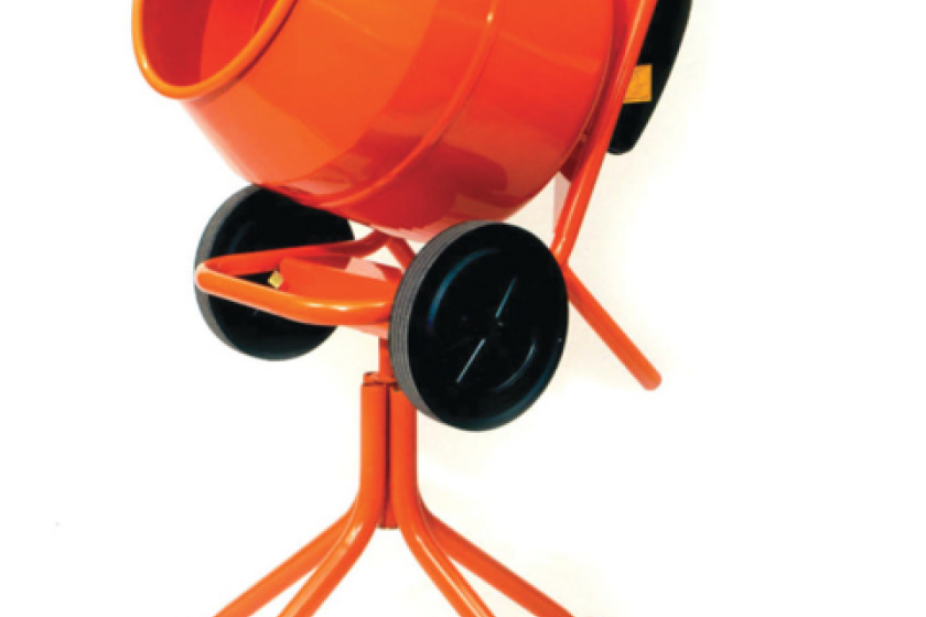 A Belle Electric Cement Mixer was among the items stolen