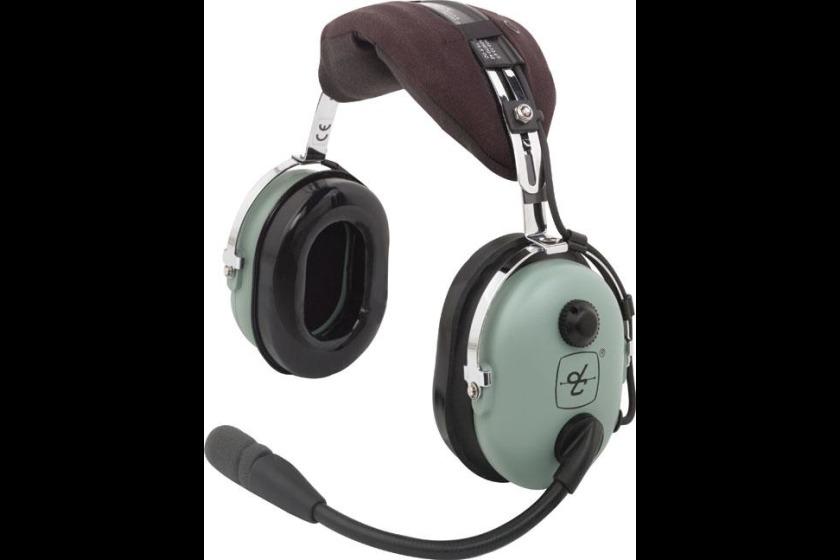 David Clark aviation headphones