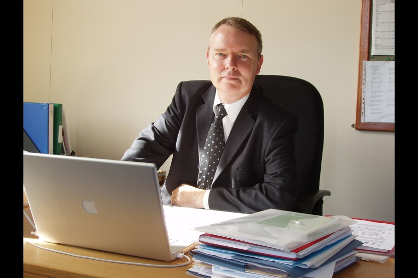 Chief Executive Stuart Dobson