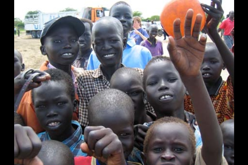 Sudanese children