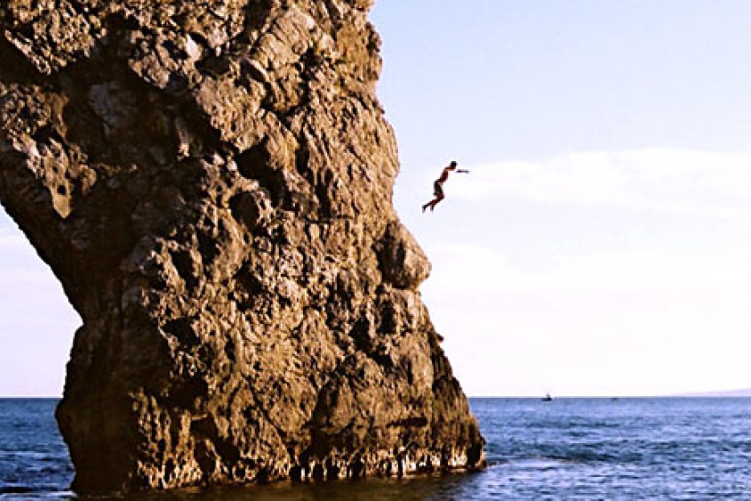 The Coastguard has warned against tombstoning