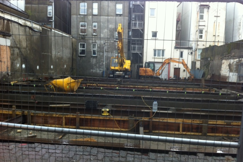 Building work has commenced on the site