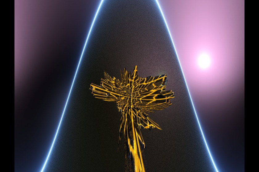 Tree of life by Bob Hitchen (aka Digi-rama)