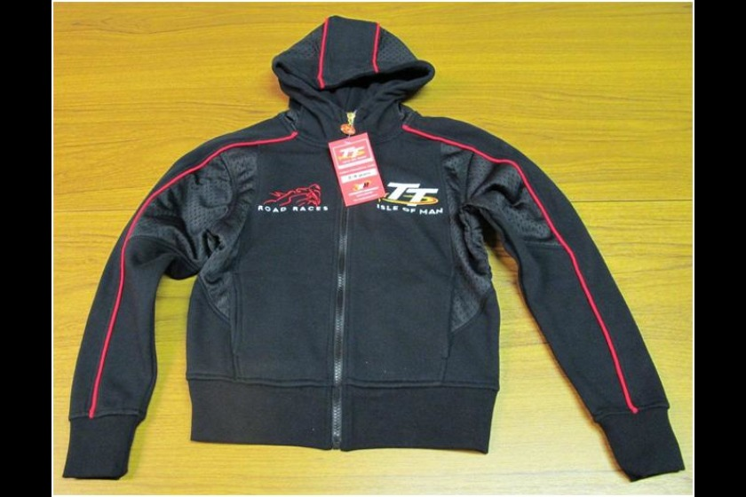 The children's TT hoodies (pictured) are being recalled