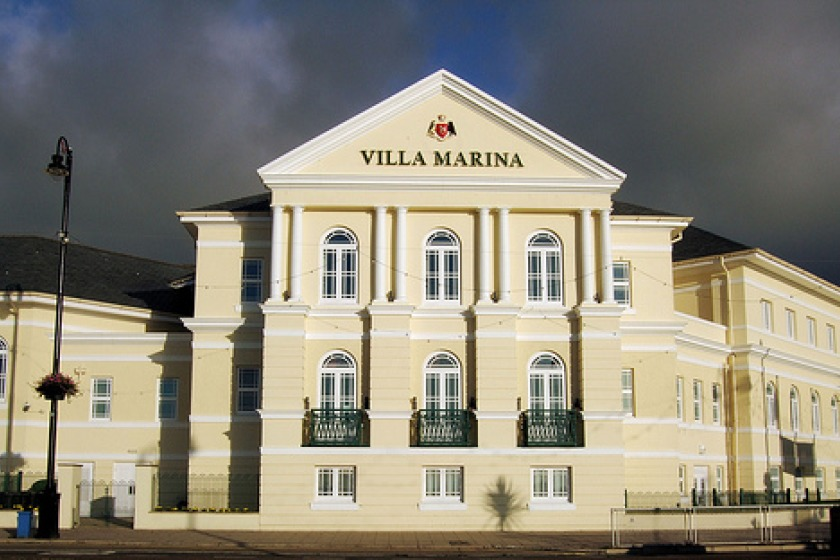 The Broadway Cinema is part of the Villa Marina complex