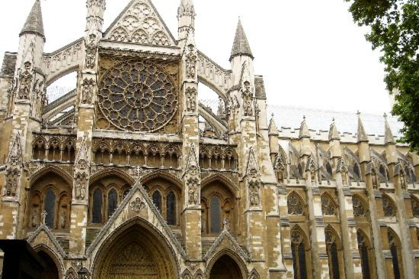 Westminster Abbey, where the service will be held