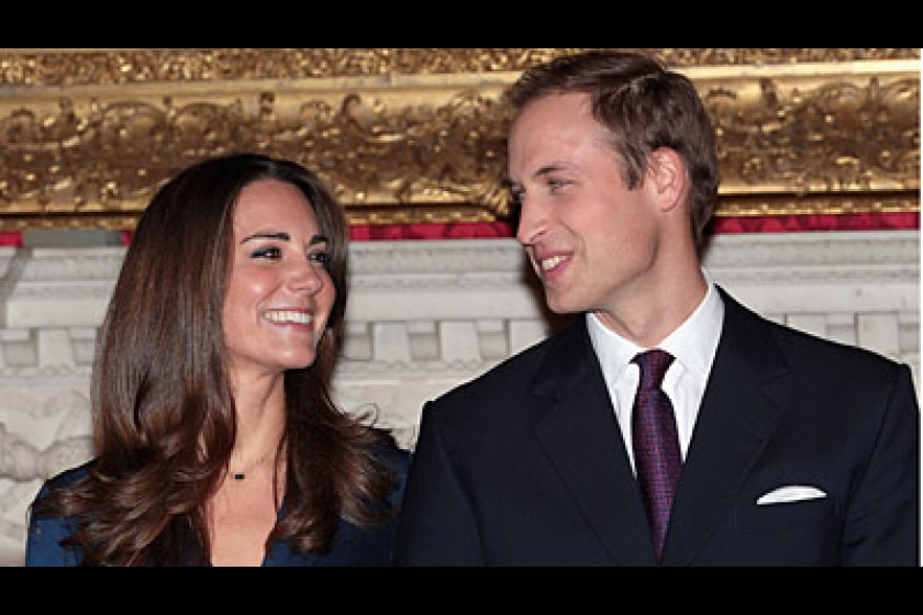 Prince William and Kate Middleton (photo from Sky News)