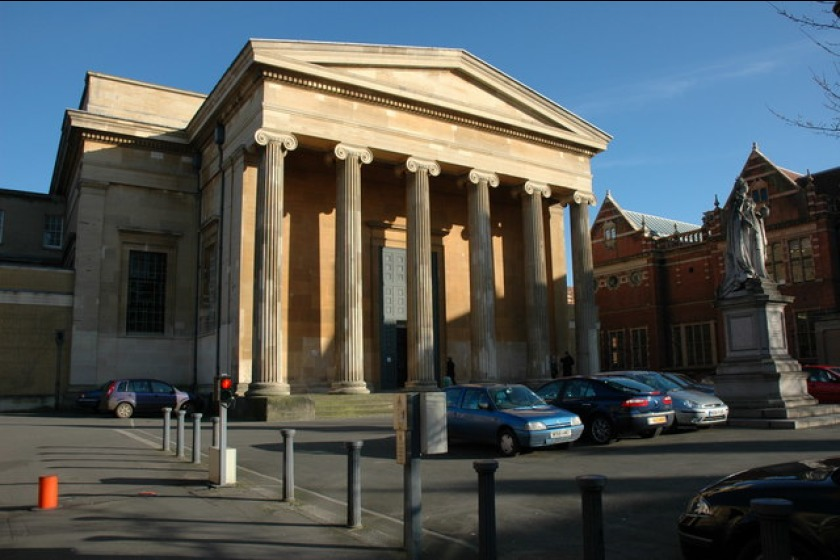 The Shire Hall is Worcester's Crown and County Court