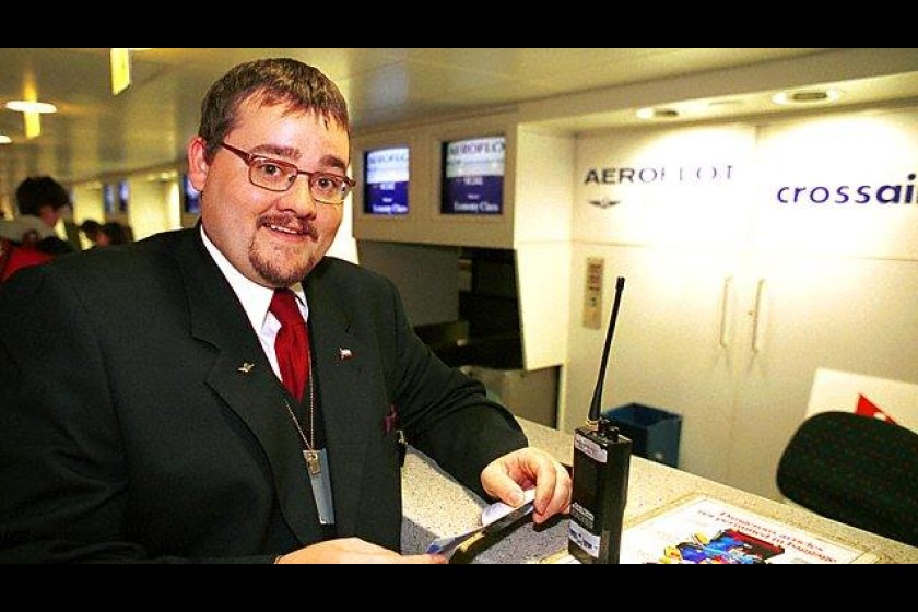 Jeremy was featured in the BBC TV Show 'Airport'. (Pic: BBC)