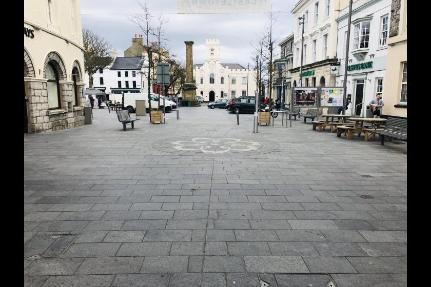 Castletown Square, By Ewan Gawne - Local Democracy Reporter